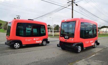 Shared autonomous vehicle testing partnership established in California
