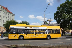 Electric Bus Line 79 begins operation in Dresden