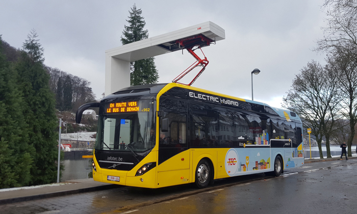 Belgian cities of Charleroi and Namur order 90 electric buses and 12 charging stations
