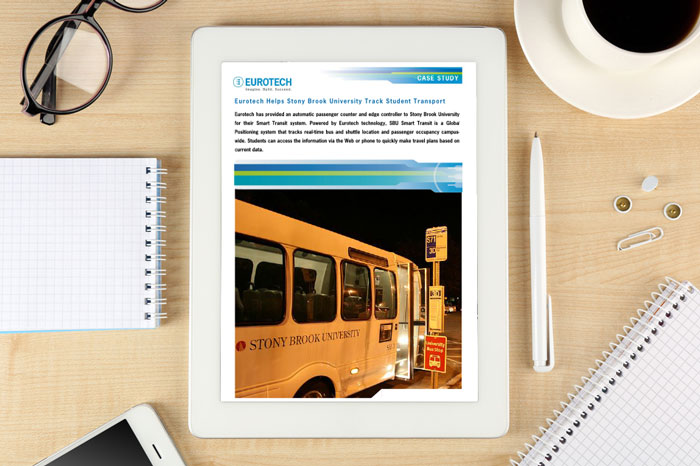 Case study: Eurotech helps Stony Brook University track student transport