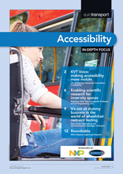 Eurotransport magazine issue 4 2017 accessibility in depth focus