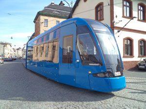 Bombardier FLEXITY tram MPK Kraków