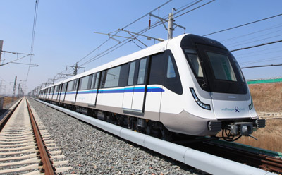 Final MOVIA metro train delivered for Singapore Downtown Line