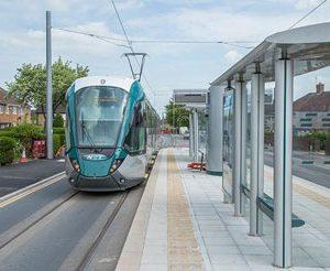 Final tests begin on Nottingham Express Transit tram extension