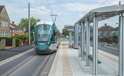Final tests begin on Nottingham Express Transit tram extension