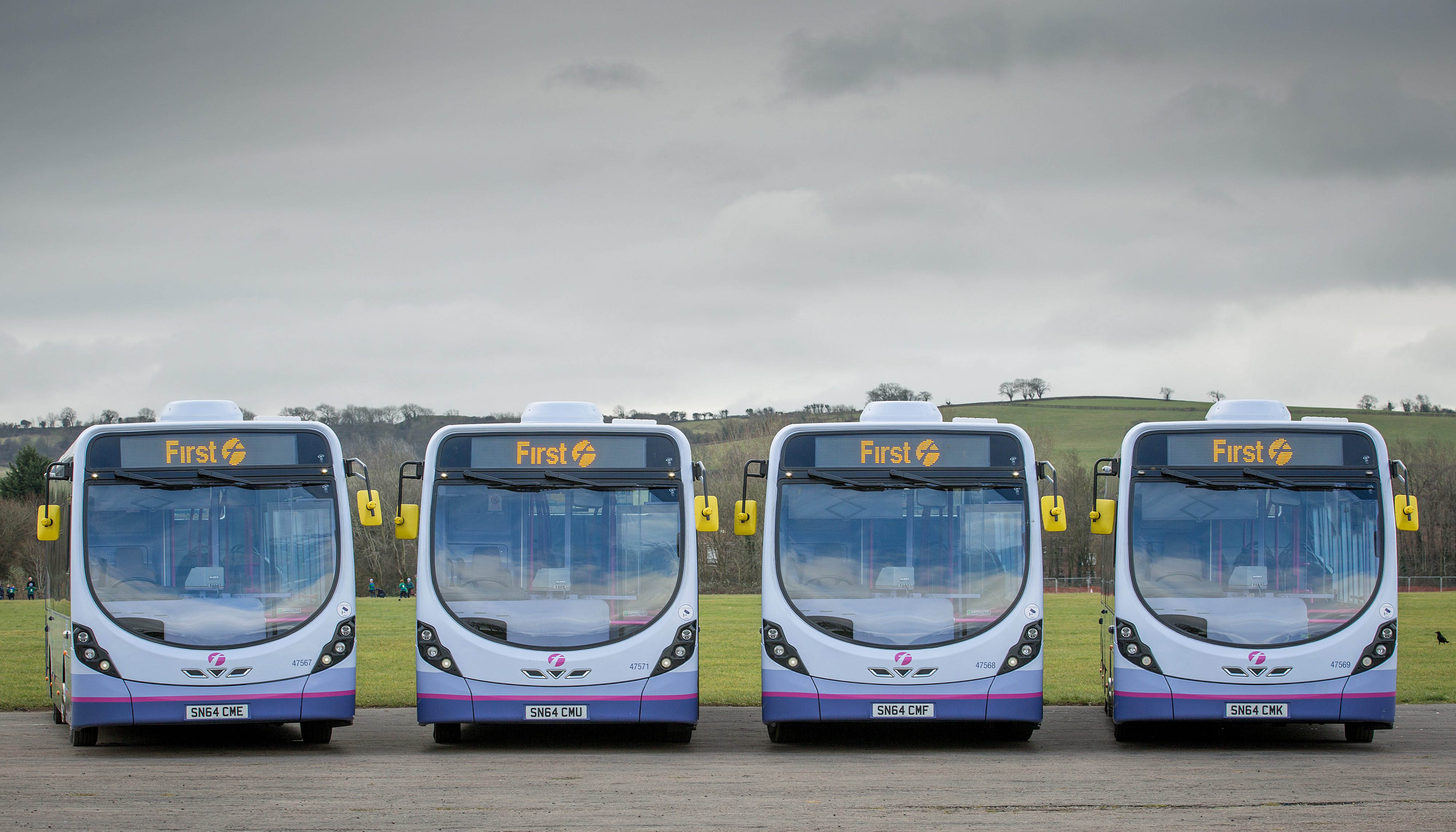 First Group Micro Hybrid Buses