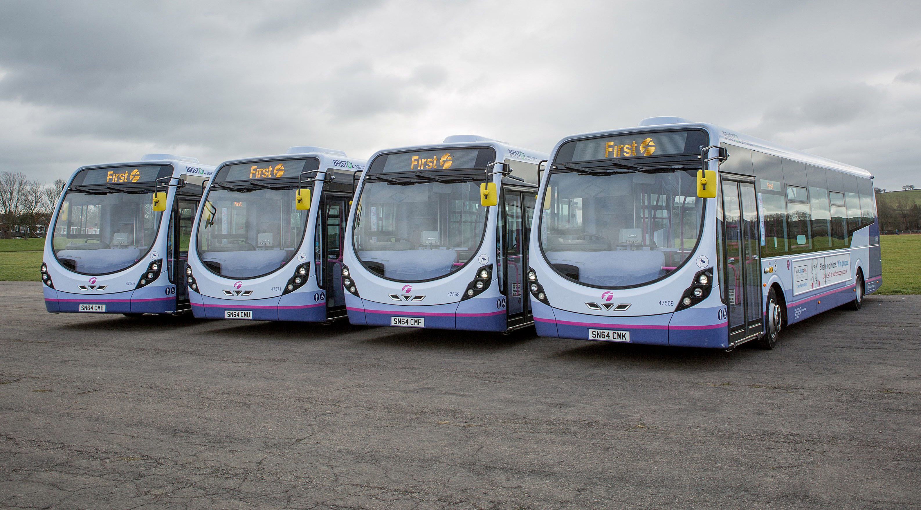 Over a hundred new buses for Scotland