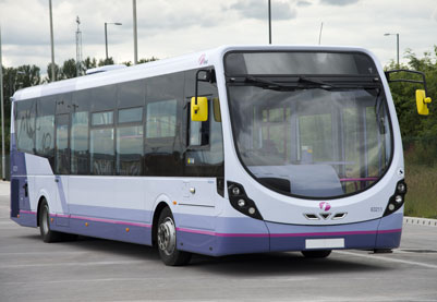First Scotland East bus