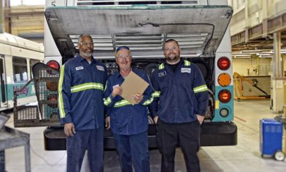 FirstGroup North American maintenance locations gain Blue Seal of Excellence