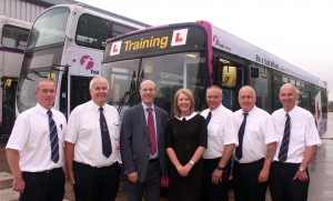 First announces new bus driver training programme