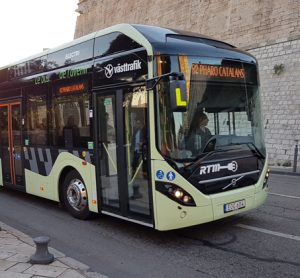 Electric hybrid bus to be trialled in Marseille, France