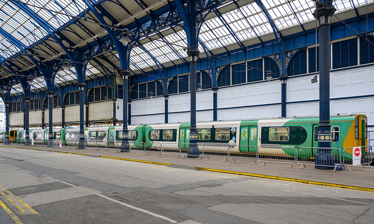 GTR testing train