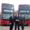 New look hybrid buses Go-Ahead in London