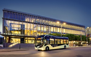 Gothenburg launches first electric bus route