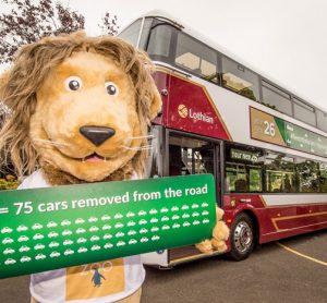 Green Lothian buses
