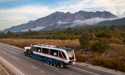 First Metropolis trainset shipped to Mexico for operation on Guadalajara Line 3