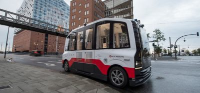 autonomous bus in Hamburg