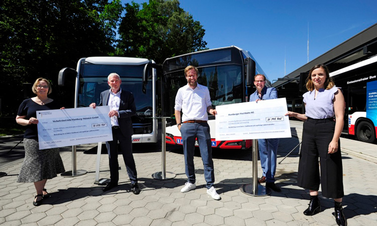 bus contract signed