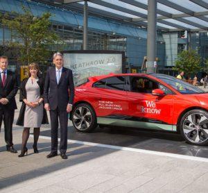 Heathrow-electric vehicles