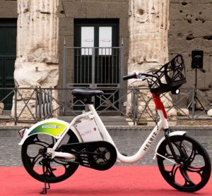 Helbiz launches e-bike fleet in Rome