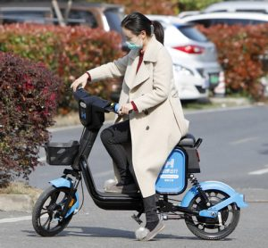 Chinese shared e-bike service upgraded to support social distancing