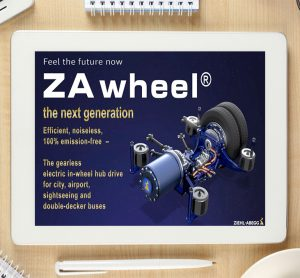 Video: ZAwheel – electric motors for buses