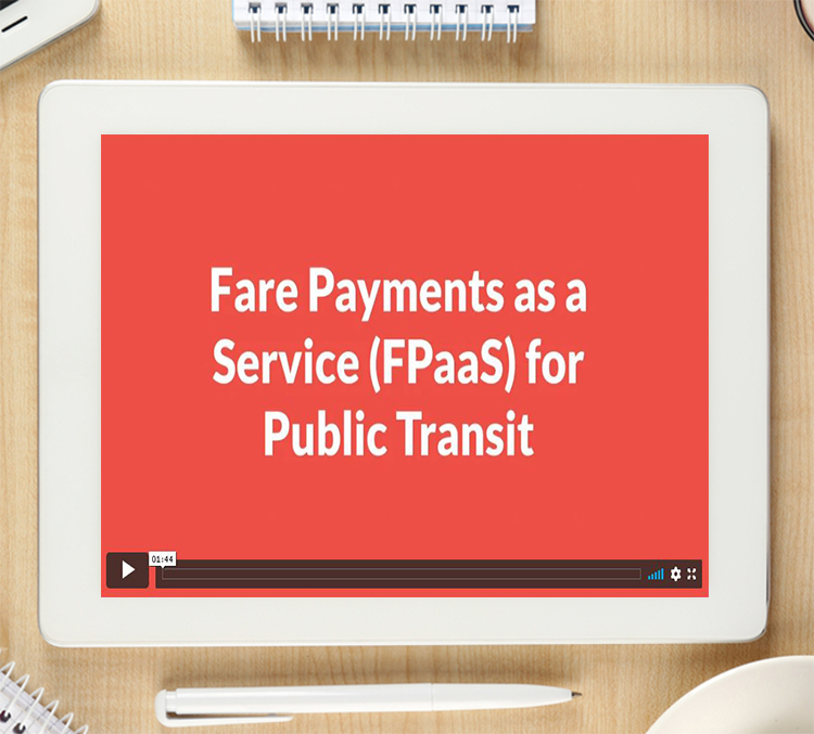 Introducing Fare Payments as a Service for Public Transport