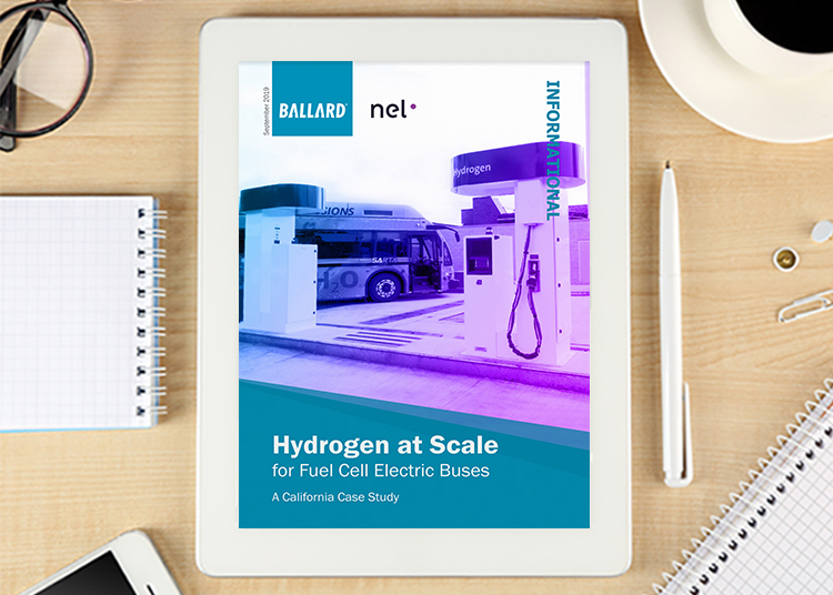 Hydrogen at scale: for fuel cell electric buses - a California case study