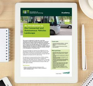 Connected and Autonomous Vehicles Course Insights