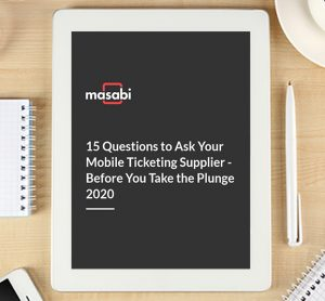 15 questions to ask your mobile ticketing supplier - before you take the plunge
