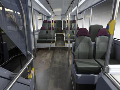 High Spec Interior Bus Design Revealed For Manchester