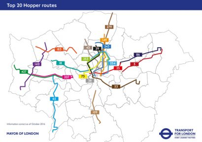 10 million London Hopper fare journeys recorded since launch