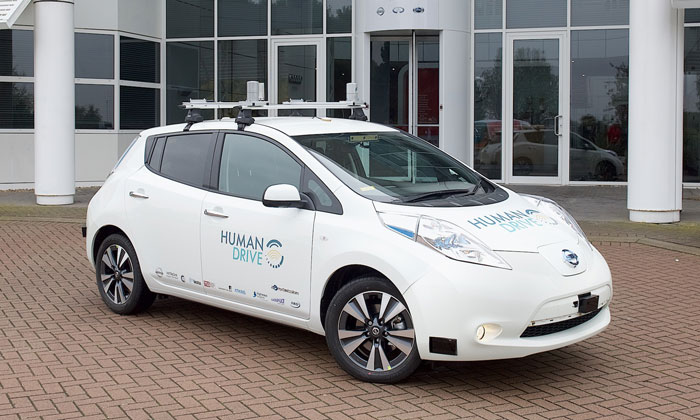 Autonomous cars to learn to drive on UK's country roads