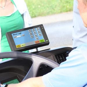 TOUCHit Mobile Data Terminal with Touchscreen