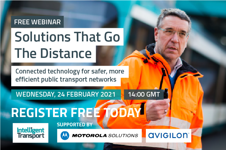 Free webinar from Motorola Solutions | 24 February 14:00 GMT | Solutions That Go The Distance