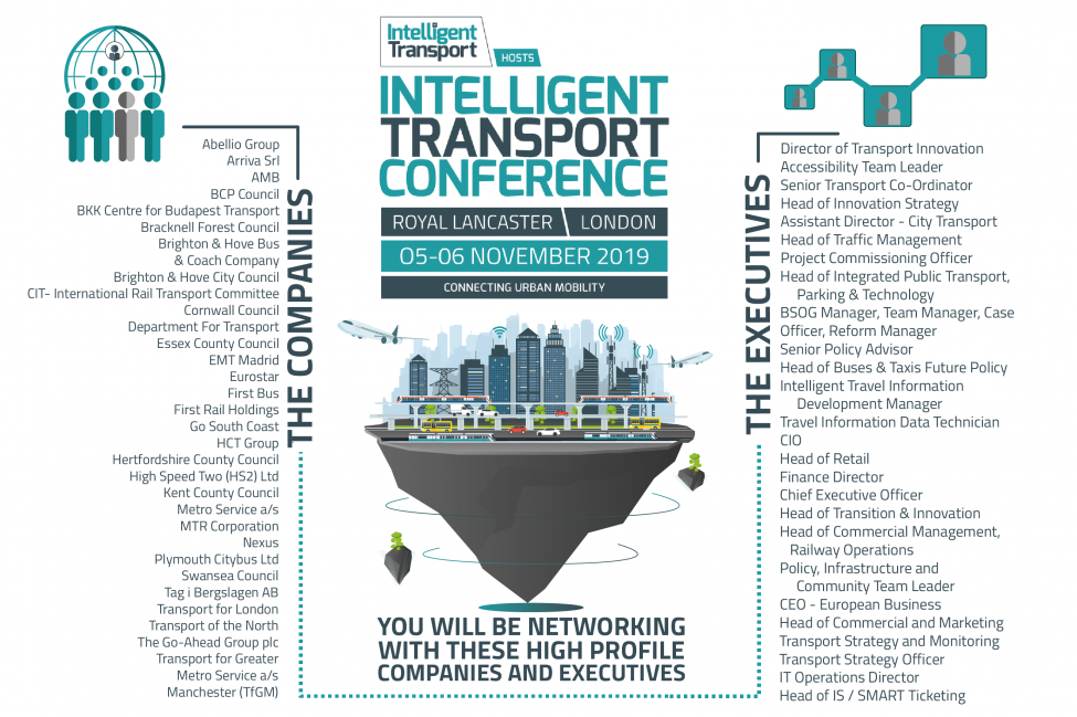 Intelligent Transport Conference 2019 - Intelligent Transport