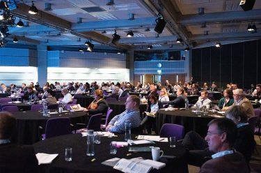 Transport delegates listen to expert speakers at Intelligent Transport Conference 2018