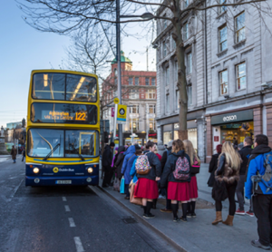 Public transport passenger numbers up 4.4 percent in Ireland