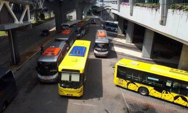 KSAB Bus Movements between Iskandar/Singapore