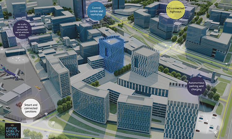 Jaguar Land Rover smart cities hub