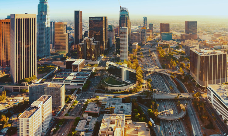 Partnership sets out Los Angeles transport emission reduction targets