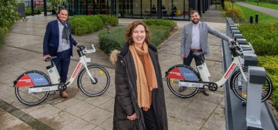 Santander Cycles Leicester launch