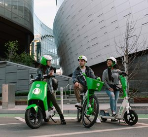 Lime e-mopeds