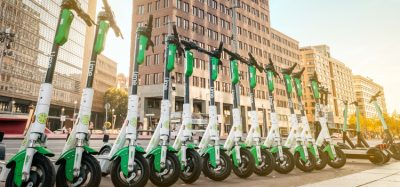 Lime e-scooters in Berlin, Germany