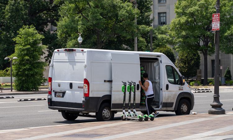 Lime commits to zero-emissions operations fleet vehicles by 2030