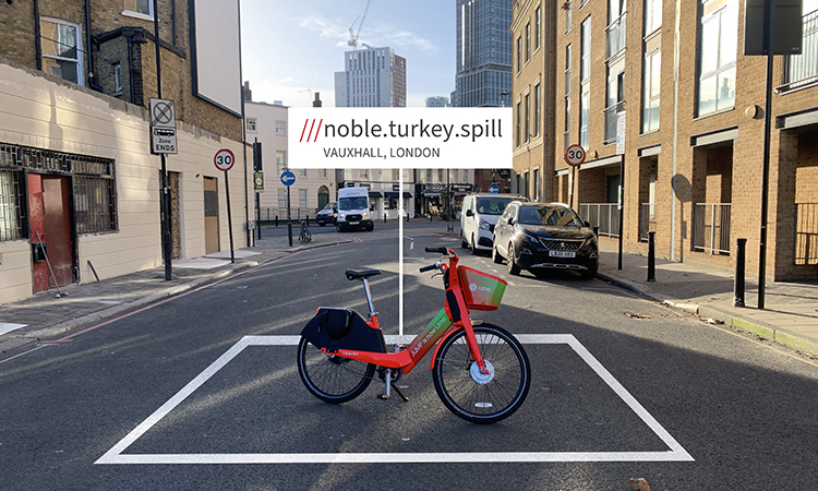 Lime has partnered with what3words