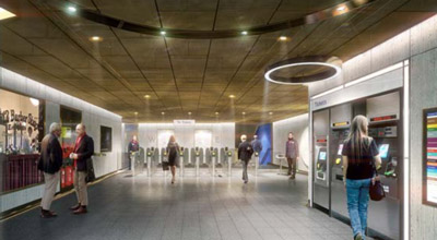 London Underground reveals station design of the future