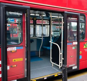 TfL trials safer boarding on London buses