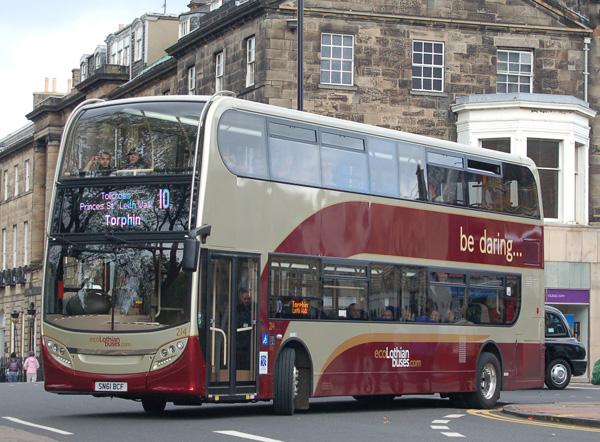 Lothian Buses Hybrid Bus