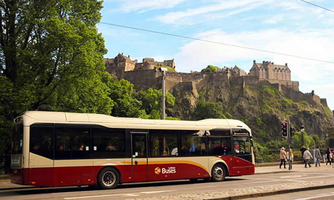 Lothian Buses agrees 4 year deal with Wrightbus for up to 316 vehicles